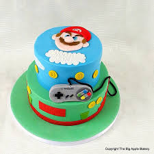 super mario torta